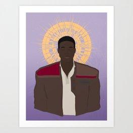 Saint Finn Art Print