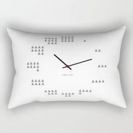 Time Flies Rectangular Pillow