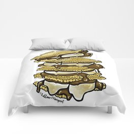 Stack of S'mores Comforters