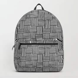 Crossed Lines Backpack