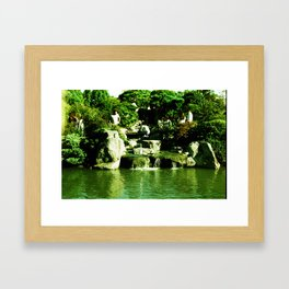 I dont believe what i have to see. Framed Art Print