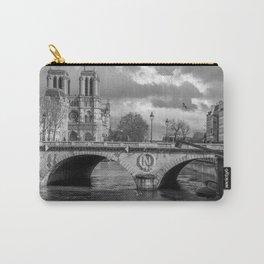 Notre Dame de Paris Cathedral France Carry-All Pouch