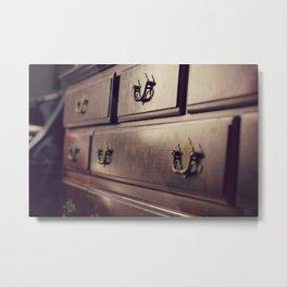 Dresser Metal Print