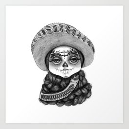 Zapatista Art Print