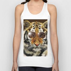 In the Eye of the Tiger Unisex Tank Top