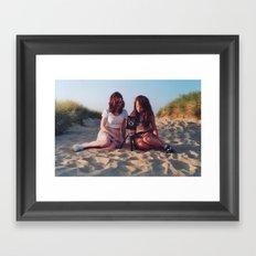 the pair Framed Art Print