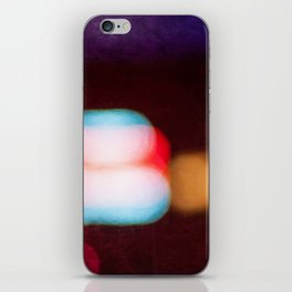Abstract Light And Color Field iPhone Skin