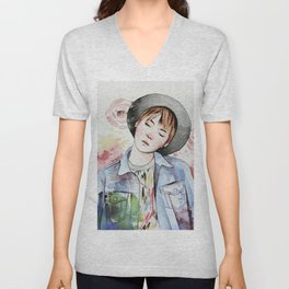 the age of blossoms Unisex V-Neck