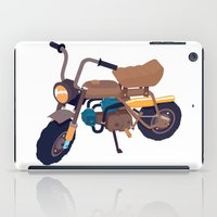 honda iPad Cases featuring #1 honda z50 by Brownjames Prints