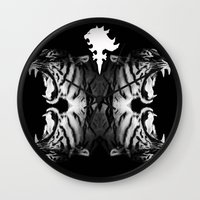 supreme Wall Clocks featuring Supreme Ruler  by We Are Dreamers