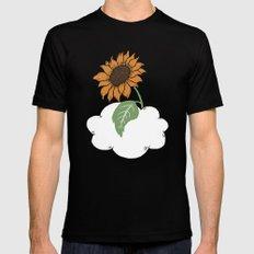 Sunflower Black MEDIUM Mens Fitted Tee