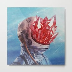 Emanating Metal Print