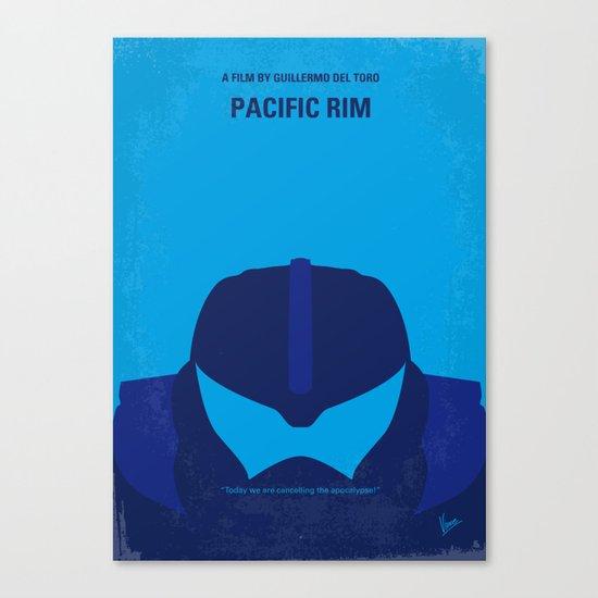No306 My Pacific Rim minimal movie poster Canvas Print