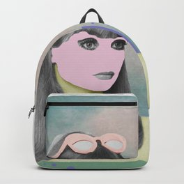 Her – The Girl With The Pink Face Backpack