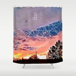 Tmbl & Mrge Shower Curtain