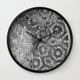 Manhole Lid Wall Clock