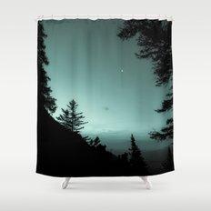 Moonlight Poem Shower Curtain