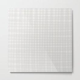 lines crossed Metal Print