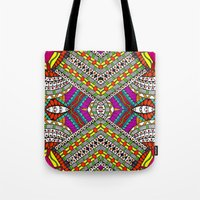 gypsy Tote Bags featuring Gypsy by Kimberly McGuiness