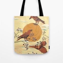 JINWU (three-legged crows) Tote Bag