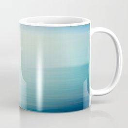I Love the Sea Ombre Abstract Coffee Mug