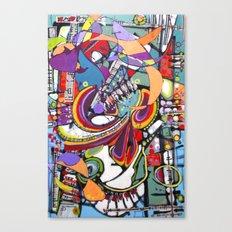 Spark Mandril Canvas Print