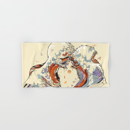 The Wave of Love Hand & Bath Towel