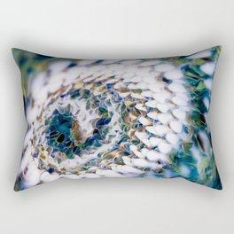 Circling Depths Rectangular Pillow