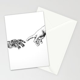 The Creation of Outer Space Stationery Cards