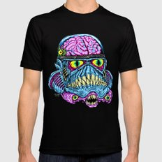 Monster Trooper X-LARGE Mens Fitted Tee Black
