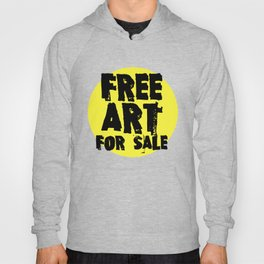 Free Art for Sale (yellow) Hoody