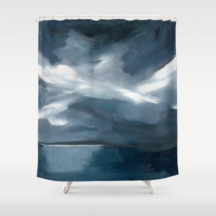 Lake Taupo, New Zealand Shower Curtain