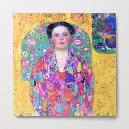 "Gustav Klimt ""Eugenia Primavesi"" Metal Print"
