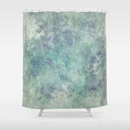 Iced Abstract Shower Curtain