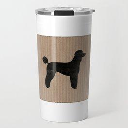 Standard Poodle Silhouette(s) Travel Mug