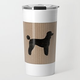 Standard Poodle Silhouette(s) Travel Mug