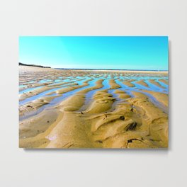 Waves of the Past Metal Print