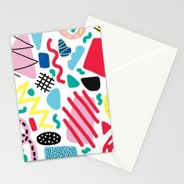 Memphis Pop Stationery Cards