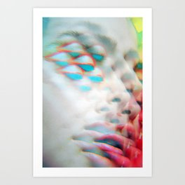 The Vivible Spectrum - Electrified and Multiplied Art Print