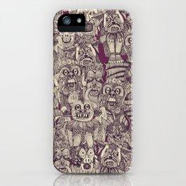 gargoyles purple iPhone Case