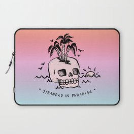 STRANDED IN PARADISE Laptop Sleeve