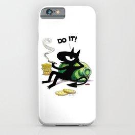 Do it! iPhone Case