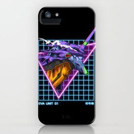 Eva Unit 01 iPhone Case