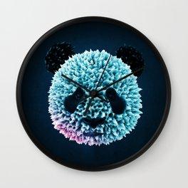 Poly Panda 3D art Wall Clock