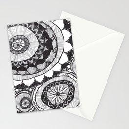 Flower Mandalas Stationery Cards