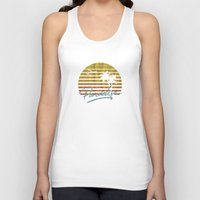 paradise Tank Tops featuring Paradise by Anthony Troester