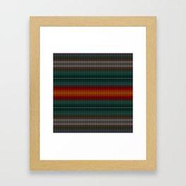 Knitted Framed Art Print