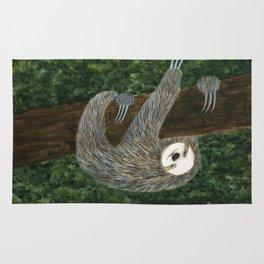 lazy sloth Rug