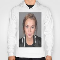 lindsay lohan Hoodies featuring Lindsay Lohan by Neon Monsters