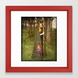 Priestess 2 Framed Art Print